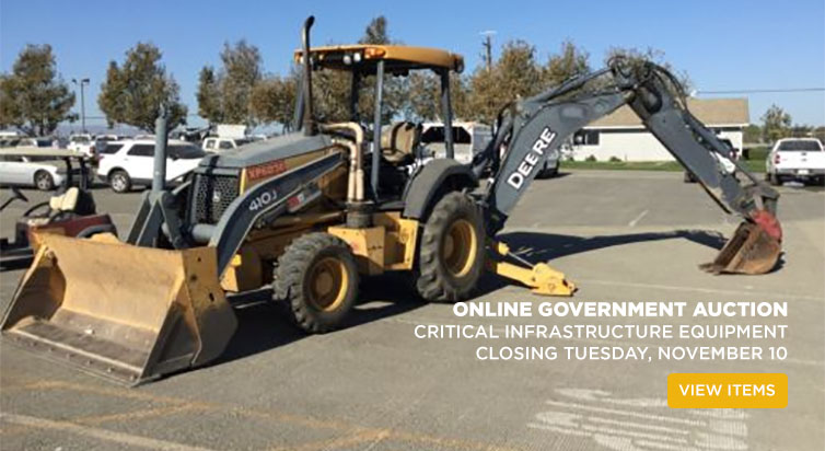 Online Government Auction Closing Tuesday, November 10</a>